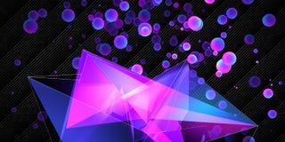 Δημιουργικό polygonal υπόβαθρο τέχνης απεικόνιση αποθεμάτων