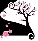 δημιουργικό sakura σχεδίου ελεύθερη απεικόνιση δικαιώματος