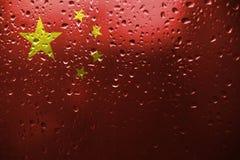 Δημοκρατία ανθρώπων ` s της σημαίας της Κίνας στοκ φωτογραφίες