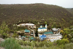 Δημοκρατία μοναστηριών Saharna της Μολδαβίας Στοκ Φωτογραφία