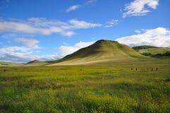 Δημοκρατία Σιβηρία Khakassia λόφων στοκ εικόνες