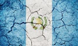 Δημοκρατία της σημαίας της Γουατεμάλα Στοκ εικόνα με δικαίωμα ελεύθερης χρήσης