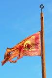 Δημοκρατία της σημαίας της Βενετίας, Βενετία, Ιταλία Στοκ Εικόνα