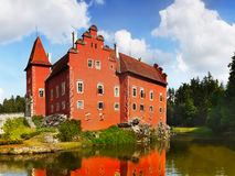 Δημοκρατία της Τσεχίας πύργων του Castle Στοκ Εικόνες