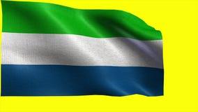 Δημοκρατία του Sierra Leone, σημαία του Sierra Leone - άνευ ραφής ΒΡΟΧΟΣ ελεύθερη απεικόνιση δικαιώματος