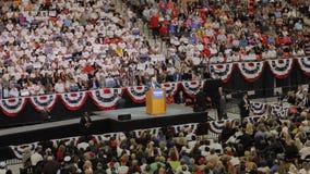 Δημοκρατική προεδρική συνάθροιση εκστρατείας του Ντόναλντ Τραμπ υποψηφίων στο χώρο & τη χαρτοπαικτική λέσχη νότιου σημείου στο Λα Στοκ Εικόνες