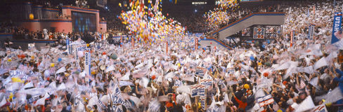 δημοκρατικός εθνικός συμβάσεων Στοκ Εικόνα