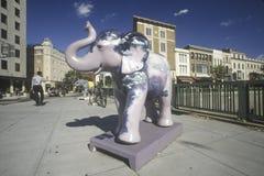 Δημοκρατικός ελέφαντας Στοκ Εικόνες