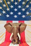 Δημοκρατικός ελεφάντων Στοκ φωτογραφία με δικαίωμα ελεύθερης χρήσης
