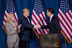 Δημοκρατικός προεδρικός υποψήφιος Μίτ Ρόμνεϊ Στοκ εικόνα με δικαίωμα ελεύθερης χρήσης