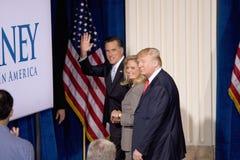 Δημοκρατικός προεδρικός υποψήφιος Μίτ Ρόμνεϊ Στοκ Εικόνες