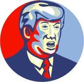 Δημοκρατικός υποψήφιος του Ντόναλντ Τραμπ 2016 Στοκ Εικόνες