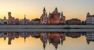 Δημοκρατικό θέατρο μαριονετών Yoshkar-Ola πόλη Ρωσία Στοκ Φωτογραφίες