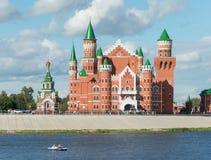 Δημοκρατικό θέατρο μαριονετών, Yoshkar-Ola πόλη Ρωσία Στοκ φωτογραφίες με δικαίωμα ελεύθερης χρήσης