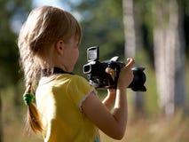 δημοσιογράφος Στοκ εικόνα με δικαίωμα ελεύθερης χρήσης