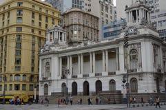 Δημοτικό θέατρο του Ρίο ντε Τζανέιρο Στοκ Φωτογραφίες