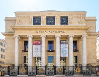 Δημοτικό κτήριο οπερών στη Μασσαλία Στοκ φωτογραφία με δικαίωμα ελεύθερης χρήσης