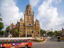 Δημοτικό κτήριο BMC στην πόλη Mumbai, Στοκ φωτογραφίες με δικαίωμα ελεύθερης χρήσης