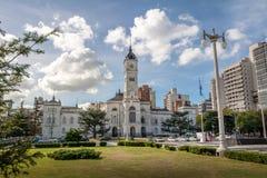 Δημοτικό παλάτι, Δημαρχείο Λα Plata - Λα Plata, επαρχία του Μπουένος Άιρες, Αργεντινή στοκ εικόνες με δικαίωμα ελεύθερης χρήσης