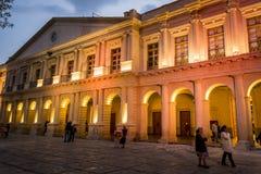 Δημοτικό παλάτι, SAN Cristobal de las Casas, Chiapas, Μεξικό στοκ εικόνα με δικαίωμα ελεύθερης χρήσης
