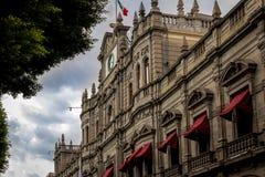 Δημοτικό παλάτι - Πουέμπλα, Μεξικό στοκ φωτογραφία