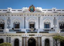 Δημοτικό παλάτι sucre - sucre, Βολιβία στοκ φωτογραφίες με δικαίωμα ελεύθερης χρήσης