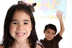 δημοτικό σχολείο παιδιών Στοκ εικόνα με δικαίωμα ελεύθερης χρήσης