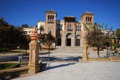 Δημοφιλές μουσείο τεχνών, Σεβίλη, Ισπανία. Στοκ Εικόνα