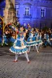 Δημοφιλής παρέλαση Olivais, παλαιοί εορτασμοί γειτονιών της Λισσαβώνας Στοκ Εικόνες