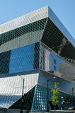 Δημόσια βιβλιοθήκη του Σιάτλ Koolhaas Στοκ Εικόνες