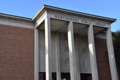 Δημόσια βιβλιοθήκη Martinsburg στη δυτική Βιρτζίνια Στοκ Φωτογραφία