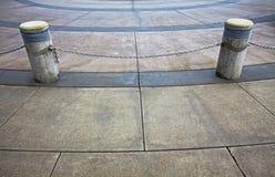 δημόσια διάβαση πεζών πυλών& Στοκ Εικόνες