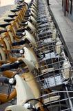 δημόσια διανομή ποδηλάτων Στοκ φωτογραφία με δικαίωμα ελεύθερης χρήσης