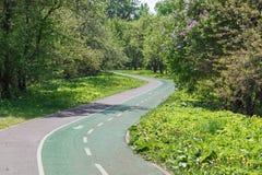 Δημόσια ζώνη πάρκων μέσα στην πόλη στοκ εικόνα με δικαίωμα ελεύθερης χρήσης