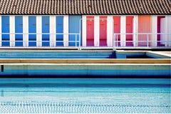 δημόσια κολύμβηση λιμνών στοκ εικόνες