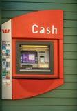 Δημόσια μηχανή του ATM σε Arrowtown, Νέα Ζηλανδία Στοκ Φωτογραφία