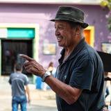 Δημόσια πλατεία στο Λα Boca, Μπουένος Άιρες, Αργεντινή Λήφθείτε κατά τη διάρκεια Στοκ Φωτογραφία