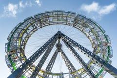 Δημόσια τέχνη Bigwheel Στοκ Φωτογραφία