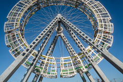 Δημόσια τέχνη Bigwheel Στοκ φωτογραφία με δικαίωμα ελεύθερης χρήσης