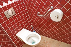δημόσια τουαλέτα Στοκ Εικόνες