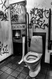 Δημόσια τουαλέτα Vandalized στοκ φωτογραφία