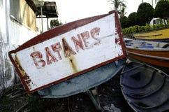 Δημόσιες βάρκες Batanes Στοκ Εικόνες