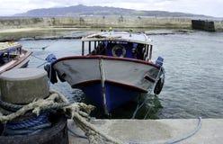 Δημόσιες βάρκες Batanes Στοκ φωτογραφία με δικαίωμα ελεύθερης χρήσης