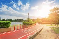Δημόσιες διαδρομές πάρκων και ποδηλάτων στοκ φωτογραφίες με δικαίωμα ελεύθερης χρήσης