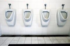 Δημόσιες τουαλέτες για τους κυρίους Στοκ Εικόνες
