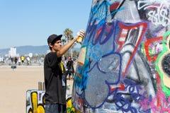 Δημόσιοι τοίχοι τέχνης της Βενετίας Στοκ εικόνες με δικαίωμα ελεύθερης χρήσης