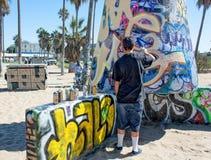 Δημόσιοι τοίχοι τέχνης της Βενετίας Στοκ φωτογραφίες με δικαίωμα ελεύθερης χρήσης