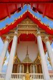 Δημόσιος ναός Samakhitham Wat στη Μπανγκόκ Ταϊλάνδη στοκ εικόνες με δικαίωμα ελεύθερης χρήσης