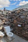Δημόσιος χώρος ανάπαυσης πετρών outdside χωρίς στέγη στα des Στοκ Φωτογραφία