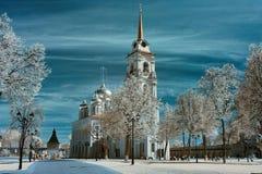 Δημόσιος χώρος, η Τούλα Κρεμλίνο Στοκ εικόνα με δικαίωμα ελεύθερης χρήσης